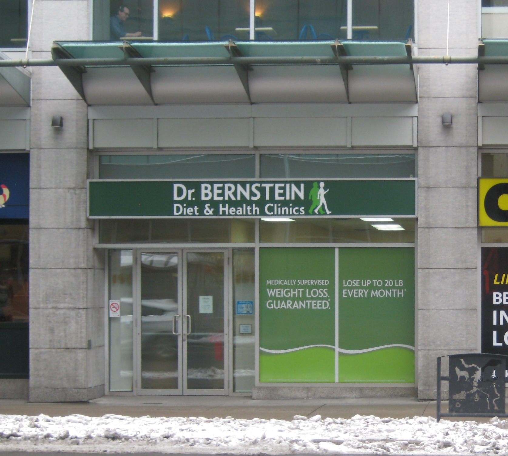 Dr. Bernstein Weight Loss & Diet Clinic, Bank St. - Ottawa, Ontario