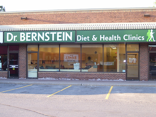 Dr. Bernstein Weight Loss & Diet Clinic, Belleville, Ontario