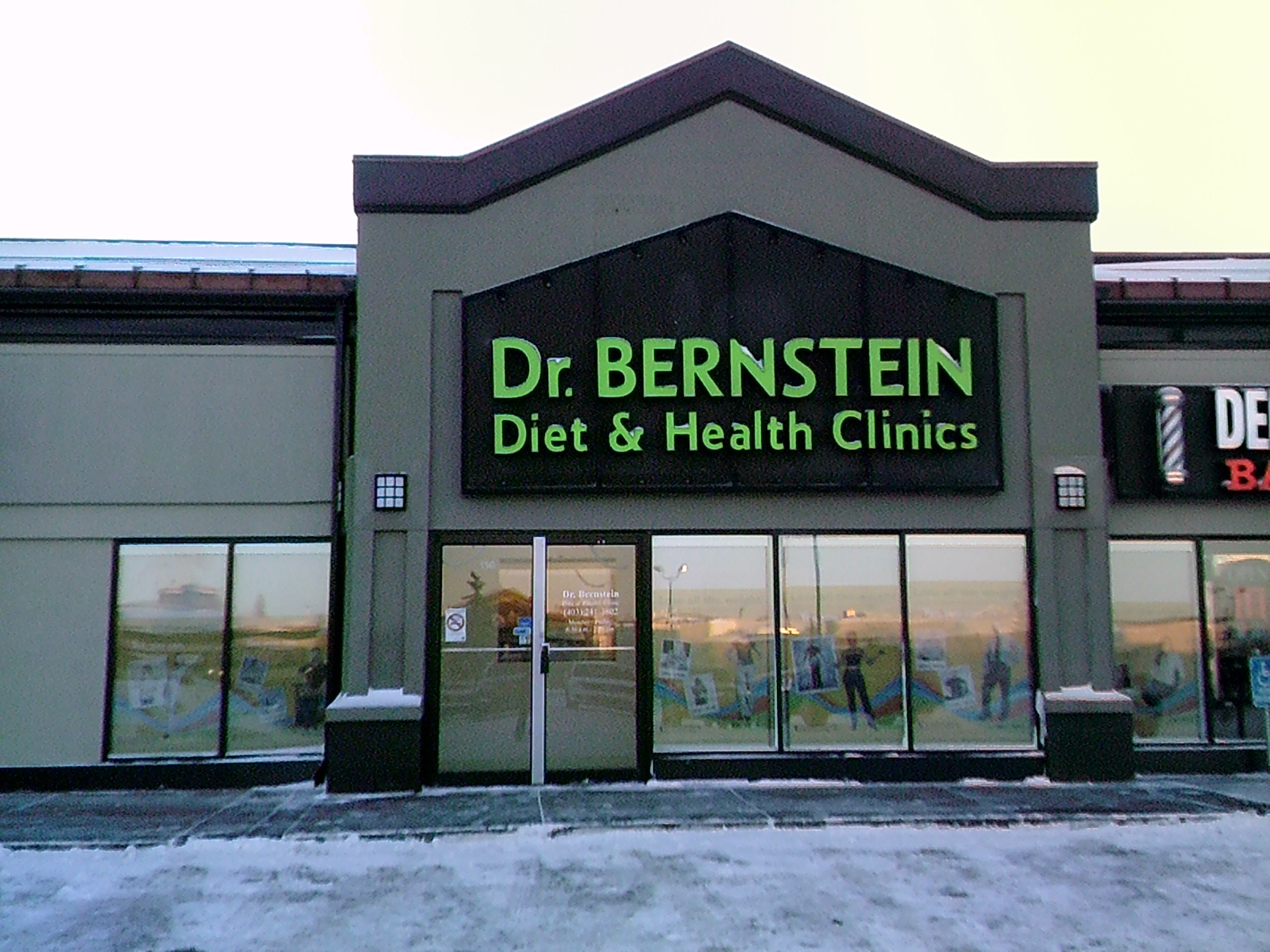 Dr. Bernstein Weight Loss & Diet Clinic, Crowfoot Rd. NW - Calgary, Alberta
